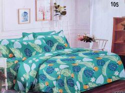 Комплект постільної білизни 1,5 спальний 70*70 полібязь 3Д арт.105 ТМConstancy