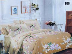Комплект постільної білизни 1,5 спальний 70*70 полібязь 3Д арт.108 ТМConstancy
