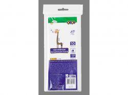 Набір обкл. для зошитів, прозорі, B5, 150мкм, 10шт/уп KIDS Line ZB.4705 ТМZiBi