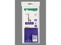 Набір обкл. для зошитів, прозорі, B5, 200мкм, 10шт/уп KIDS Line ZB.4706 ТМZiBi