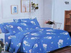 Комплект постільної білизни 1,5 спальний 70*70 полібязь 3Д арт.101 ТМConstancy