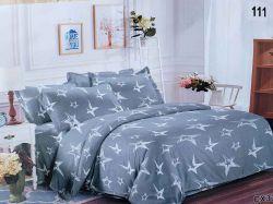Комплект постільної білизни 1,5 спальний 70*70 полібязь 3Д арт.111 ТМConstancy