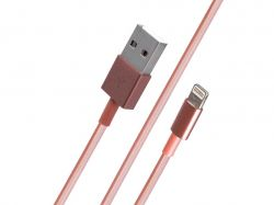 Кабель Pink Packing Lightning USB Cable (1m) - Pink 700569 ТМKMT