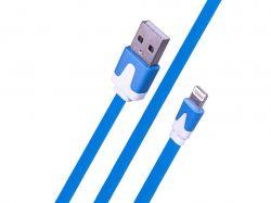 Кабель Small Noodle Lightning USB Cable (3m) - Mix Color 721201 ТМKMT