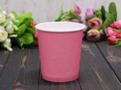 Коробка для квітів кругла без кришки 10*7,5*10см. кол. Рожевий ТМУПАКОВКИН