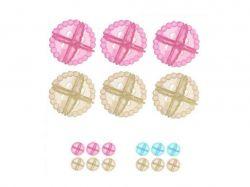 Кульки проти збивання білизни в пранні 6шт/уп J00454 ТМSTENSON