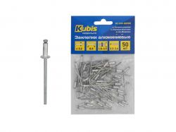 Заклепки алюмінієві 3.2*8 мм (товщина 1.5-3.5 мм), 50 шт 01-04-3208 ТМKubis