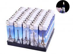 Запальничка пластикова (Звичайне полумя) Ельфелева вежа №1209-4 ТМSunOPT
