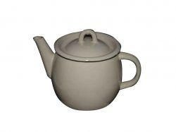 Чайник емальований 1,0л/1 Молочна з полою руч. (I27071/1) ТМIDILIA
