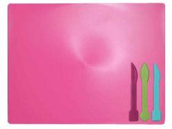 Дощечка для пластиліна, 3 стека, розовий ZB.6910-10 ТМZiBi