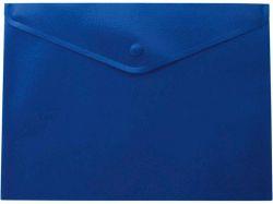 Папка-конверт А5 на кнопці, матова, синій BM.3935-02 ТМBuromax