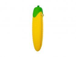 Пенал силіконовий КУКУРУДЗА, 21х6 см, жовтий ZB.704215 ТМZiBi