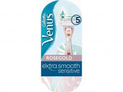 Бритва Extra Smooth Sensitive з 1 змінним картриджем RoseGold ТМVenus