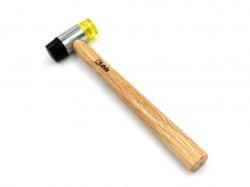 Молоток рихтувальний 35мм, деревяна ручка 02-02-4035 ТМKubis
