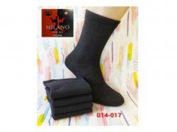 Шкарпетки чоловічі високі чорні (12пар/уп) р.27-29 арт.014-012 ТММilano
