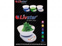 Ваги кухонні ел. LSU-5022 (7 кг) ТМLIVSTAR