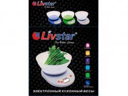 Ваги кухонні ел. LSU-5021 (5 кг) ТМLIVSTAR