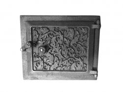 Дверка чавунна топочна Дубок 295х250 ТМHLP