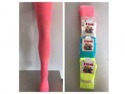 Колготи дитячі мікрофібра, рік 7-9 арт. К110 рожеві ТМIDS