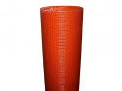 Сітка склотканева фасадна 5*5, 1м х50м 160г/м помаранчева ТМARLES