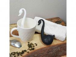 Ситечко для чаю пластик Лебідь 12.5 * 6 * 2см TD00457 ТМSTENSON