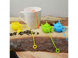 Ситечко для чаю силікон Чайник 13.5 * 6 * 4 см TD00456 ТМSTENSON