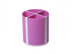 Підставка для пишучого приладдя ТВІСТЕР рожева, 4 відділення ZB.3003-10 ТМZiBi