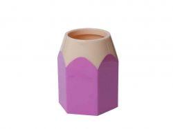 Підставка для ручок Олівець пластик рожева ZB.3004-10 ТМZiBi