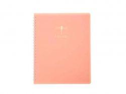 Книжка д/зап. FAVOURITE, PASTEL, В5 80 арк. # рожевий BM.24252150-10 ТМBuromax