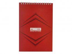 Блокнот на пруж. А-5, 48арк.Monochrome JOBMAX # червон BM.2474-05 ТМBuromax