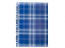 Зошит на пруж. А-6, 48л., Shotlandka, синій, # BM.2592-02 ТМBuromax