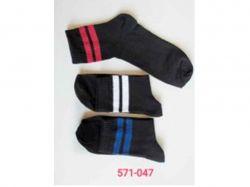Шкарпетки чоловічі з полосою (12 пар/уп) р. 41-45 арт. 571-047 ТМДукат - Картинка 1