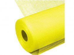 Сітка склотканева фасадна 5*5, 1м х50м 160г/м жовта 10-304 ТМBUILD SYSTEM