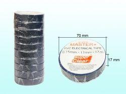 Ізоляція ПВХ 17ммх17м (кольорова) ТМ MASTER