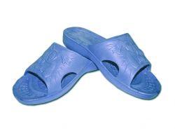 Тапочки пляжні дитячі (6 пар) Спайдер (3035р.) сині ТМ CROSS
