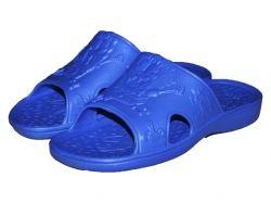 Тапочки пляжні дитячі (6 пар) ГубкаБоб (3035р.) сині ТМ CROSS