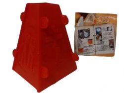 Форма пластикова для творожної паски розбірна 2 (h=110мм) ТМ CHINA
