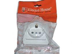 Розетка із заземленням ЕН2145 ТМ ELECTROHOUSE