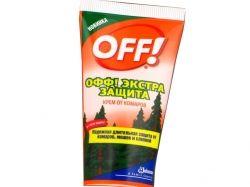 Крем проти комарів 50мл Екстра захист ТМ OFF