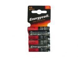 Батарейка Heavy Duty R6, АА, (4штблист.) ТМ Energycell