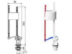 Арматура наповнювальна з нижнім підводом води АНн02 ТМ SOLO PLAST