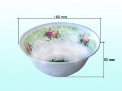 Салатник глиб. d=18см (меламін) 157 ТМ CHINA