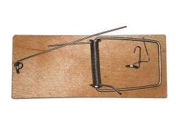 Мишоловка плоска дерев яна 45х105мм ТМ АМЕКС