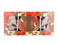 Набір салатників скляних Монарх 1/7(1*1500мл6*400мл) Мак 07с1328 ТМ ОСЗ