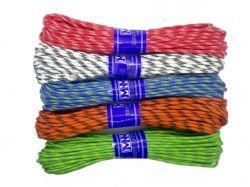 Шнур для білизни плетений з наповнювачем d=4мм 15м 216049 ТМ ХАРКІВ