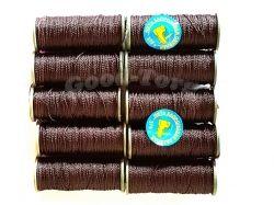 Нитки капронові №375 коричневі 410504 ТМ ХАРКІВ