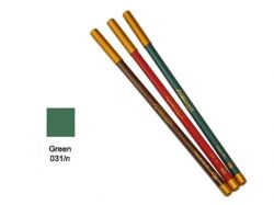 Олівець д/губ та очей дерев яний ML180 №31 зелений ТМ АСТРА КОСМЕТИК