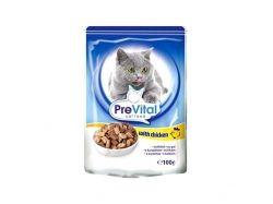 Пауч для котів з куркою в желе 100 г ТМ PREVITAL