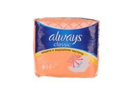Гігієнічні прокладки Always Classic Normal, 9 шт. ТМ ALWAYS