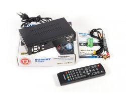 TV-тюнер внешний автономный Romsat TR-2017 (black) DVB-T2 / PVR / HDMI / USB